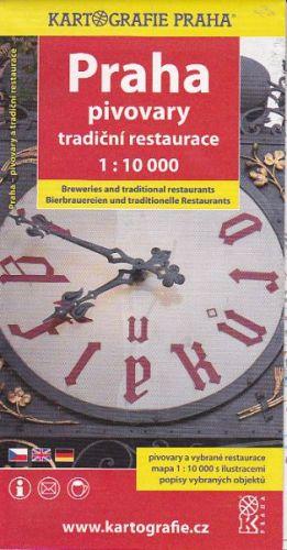 Praha Pivovary, Tradiční restaurace 1:10 000 cena od 24 Kč