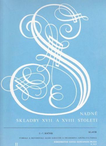 Snadné skladby XVII. a XVIII. století, II cena od 85 Kč