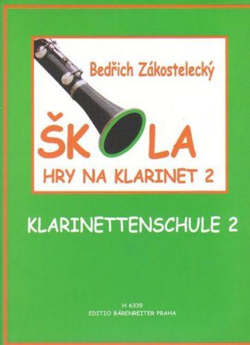 Zákostelecký Bedřich: Škola hry na klarinet 2 cena od 390 Kč