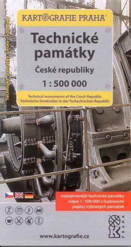 Technické památky čr 1:500 000 cena od 80 Kč