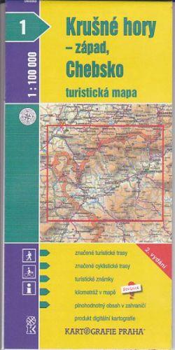 Krušné Hory - západ, Chebsko cena od 16 Kč