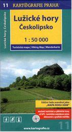 Lužické hory českolipsko 1:50 000 cena od 71 Kč