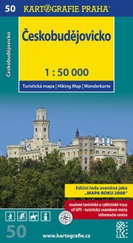 Českobudějovicko 1:50 000 cena od 71 Kč