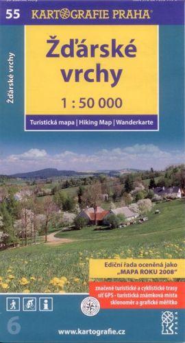 Žďárské vrchy 1:50 000 cena od 58 Kč