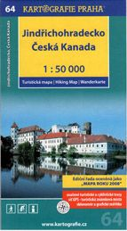 Jindřichohradecko česká kanada 1:50 000 cena od 71 Kč