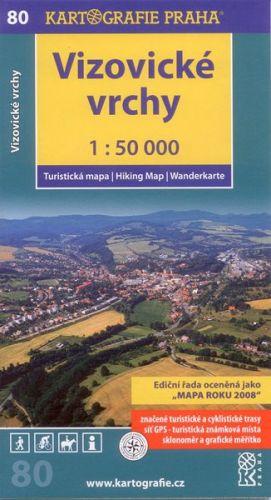 Vizovické vrchy 1:50 000 cena od 71 Kč