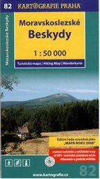 Moravskoslezské beskydy 1:50 000 cena od 89 Kč