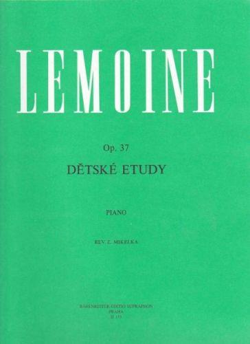 Lemoine Henri: Op. 37 Dětské etudy cena od 165 Kč