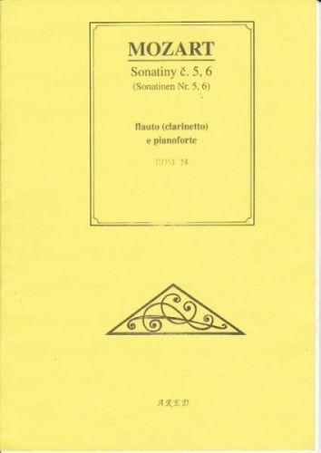 Mozart: Sonatiny č.5,6 cena od 48 Kč