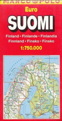 Automapa Suomi Finland cena od 121 Kč