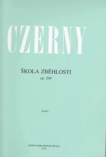 Czerny Carl: Škola zběhlosti op. 299 cena od 208 Kč
