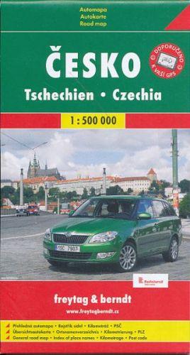 Česko - automapa 1:500 T cena od 49 Kč