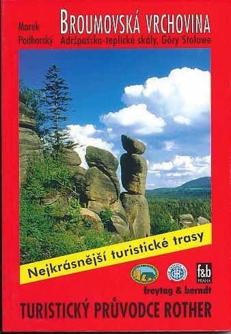 Podhorský Marek: Broumovská vrchovina - Adršpašsko-teplické skály,Góry Stolowe cena od 172 Kč