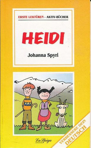 Spyri Johanna: Heidi - erste lekturen cena od 51 Kč