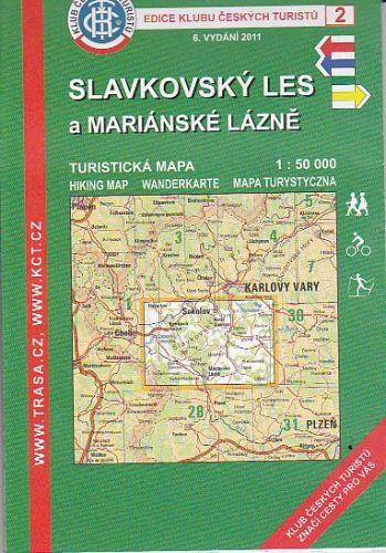 KČT 2 Slavkovský les a Mariánské Lázně cena od 89 Kč
