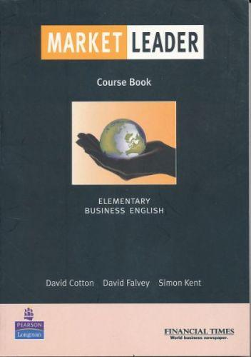 Cotton David: Market Leader elementaryCourse book cena od 674 Kč