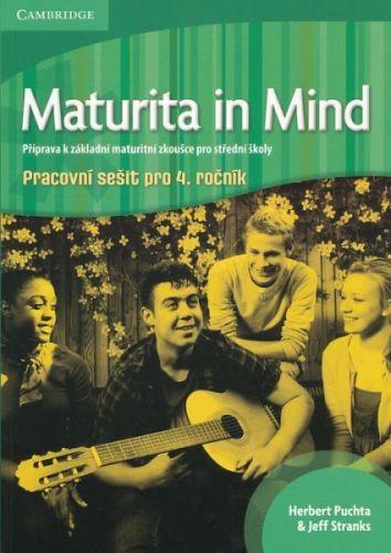 Maturita in Mind - Pracovní sešit 4 cena od 256 Kč