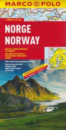 Norsko 1:800 000 cena od 199 Kč