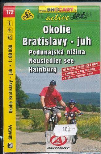 Okolie Bratislavy - jih č.172 cena od 90 Kč