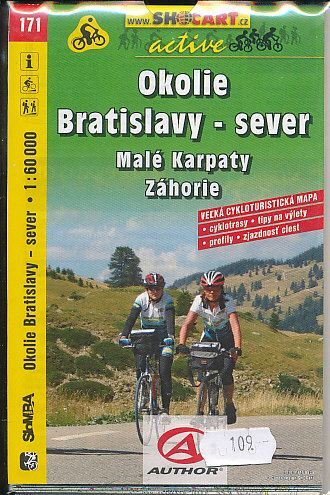 Okolie Bratislavy - sever č.171 cena od 75 Kč