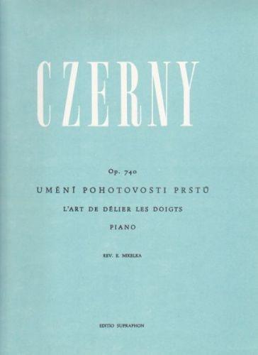 Czerny Carl: Umění pohotovosti prstů - op. 740 cena od 208 Kč