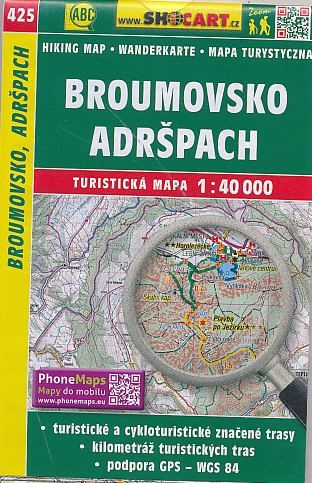 Broumovsko adršpach 1:40 000 cena od 86 Kč