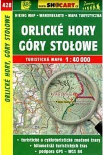 Orlické hory góry stolowe 1:40 000 cena od 86 Kč