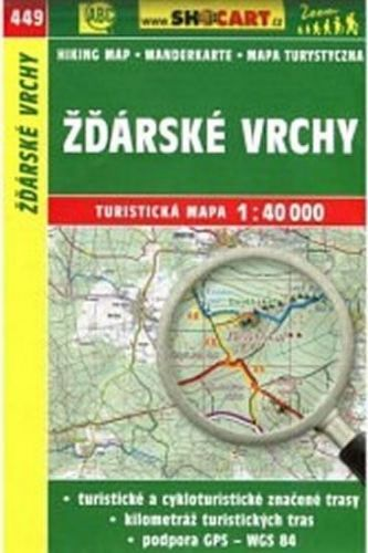 TM 1:40T 449 Žďárské vrchy Shocart cena od 79 Kč
