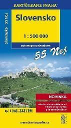 Slovensko 55 nej 1:500 000 cena od 79 Kč