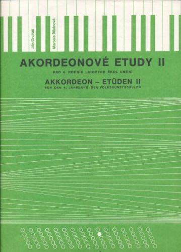 Ondruš-Dikánová: Akordeonové etudy II. cena od 59 Kč
