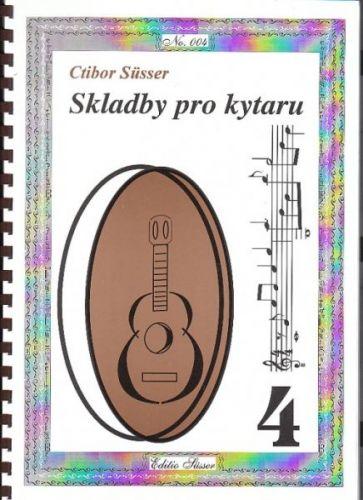 Susser C.: Skladby pro kytaru 4 cena od 122 Kč