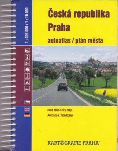 Česká republika/praha 1:200000/1:10000 cena od 304 Kč