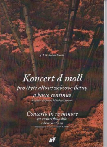 Koncert d moll pro čtyři alt. a zob. flétny cena od 157 Kč