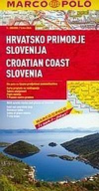 Chorvatské pobřeží Slovinsko 1:300 000 cena od 199 Kč