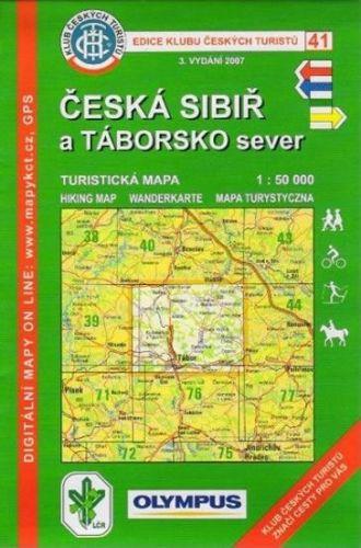 KČT 41 - Česká Sibiř a Táborsko cena od 60 Kč