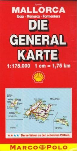Mallorca 1:175 000 cena od 156 Kč