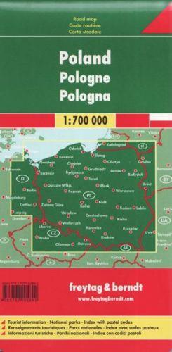 Polsko/polska 1:500 000 cena od 164 Kč