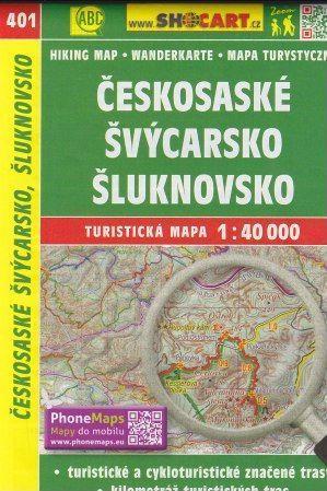 Českosaské Švýcarsko, Šluknovsko 1:40 000 cena od 86 Kč