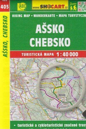 Ašsko, Chebsko 1:40 000 cena od 79 Kč