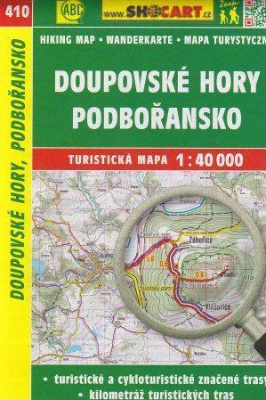 Doupovské hory, Podbořansko 1:40 000 cena od 86 Kč