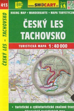 Český les, Tachovsko 1:40 000 cena od 65 Kč