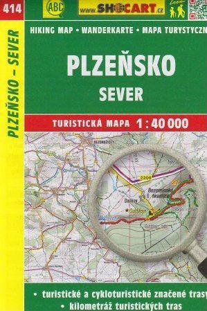 Plzeňsko sever 1:40 000 cena od 79 Kč