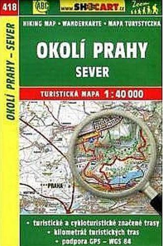 TM 1:40T 418 Okolí Prahy sever Shocart cena od 66 Kč