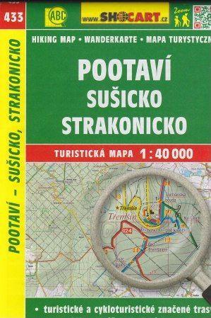 Pootaví, Sušicko, Strakonicko 1:40 000 cena od 49 Kč