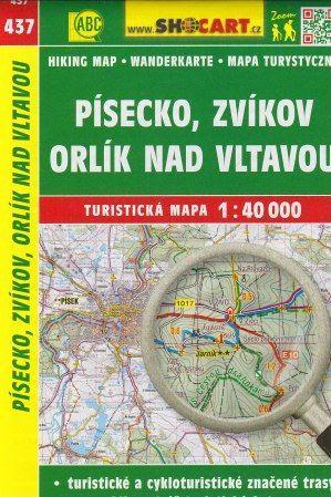 Písecko, Zvíkov, Orlík nad Vltavou 1:40 000 cena od 69 Kč