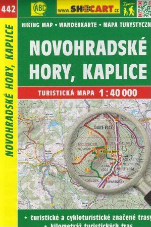 Novohradské hory, Kaplice 1:40 000 cena od 79 Kč