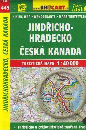Jindřichohradecko, Česká kanada 1:40 000 cena od 79 Kč