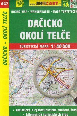 Dačicko, okolí Telče 1:40 000 cena od 49 Kč
