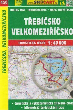Třebíčsko, Velkomeziříčsko 1:40 000 cena od 49 Kč