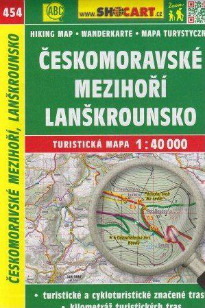 Českomoravské mezihoří, Lanškrounsko 1:40 000 cena od 69 Kč